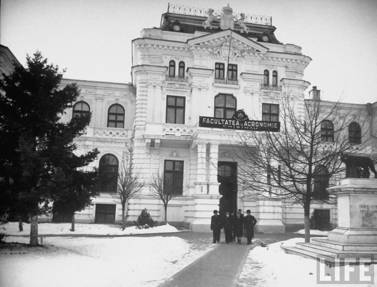 The building of the Faculty of Agronomy, 1938